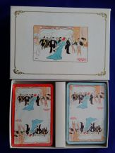 Collectible Advertising playing cards double deck. MAXIMS.